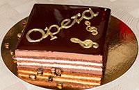 Торт Опера с кофейным сливочным кремом