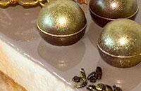 Карамельная глазурь и зеркальная карамельно-шоколадная глазурь
