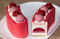 Муссовый торт Малина-грейпфрут