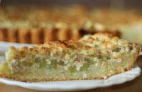 Как приготовить пирог с ревенём