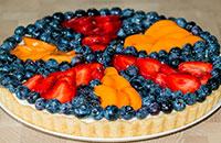Летний чизкейк с фруктами