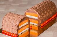 Осенний муссовый облепиховый торт