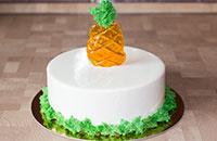 Изысканный муссовый торт Пина Колада