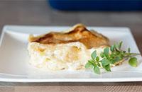 Простая сырная лазанья