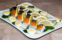 Праздничная заливная рыба (судак)