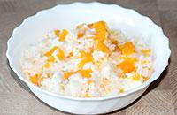 Вкусная рисовая каша с тыквой