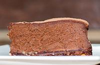Шоколадный торт — чизкейк