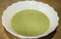 Как варить суп из брокколи