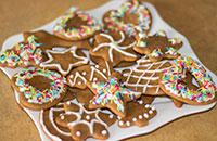 Рождественское печенье Piparkukas