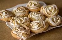 Печенье из творога с безе