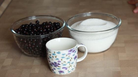 Варенье желе из чёрной смородины рецепт с фото