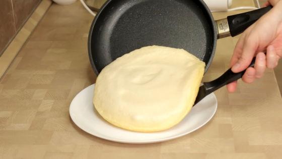 Французский омлет на сковороде