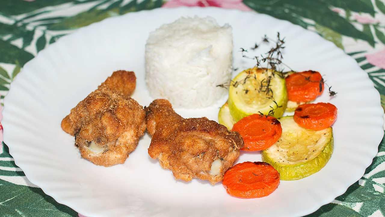 Рецепт куриных крыльев в панировке