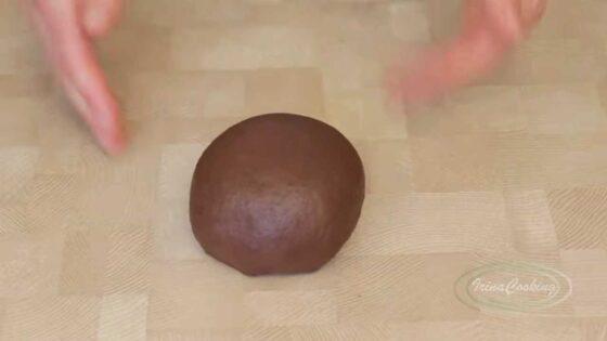 Шоколадное тесто для хлеба