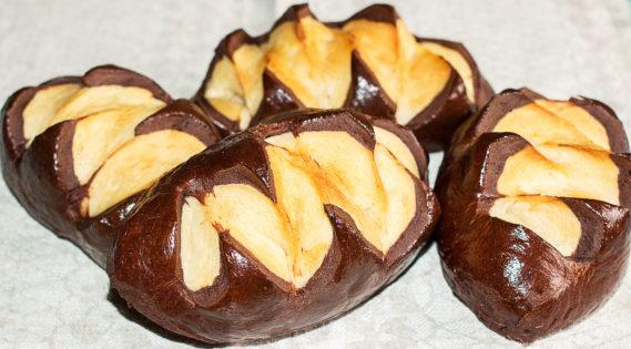 шоколадный молочный хлеб