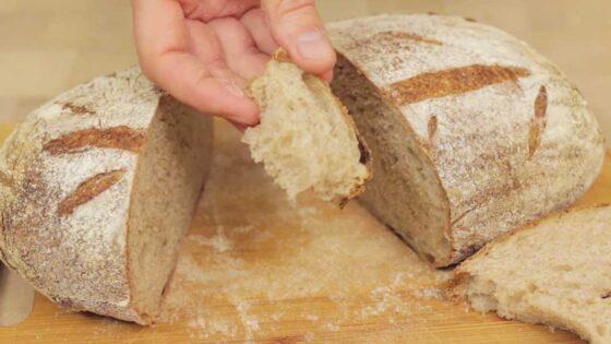 Хлеб на закваске 123 рецепт с фото