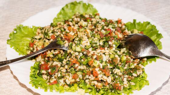 Ливанский салат Табуле рецепт с фото