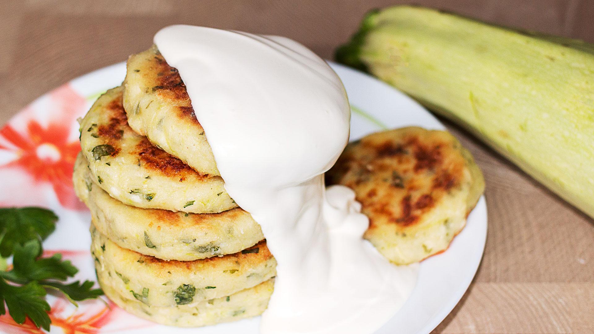 Сырники с кабачками рецепт с фото