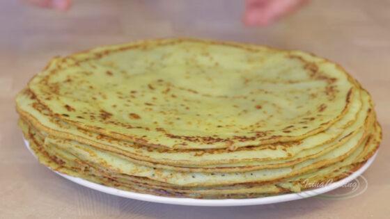 Рецепт блинов из кабачков рецепт с фото