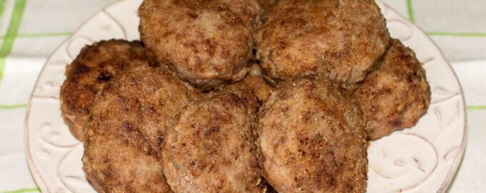 Котлеты из говядины рецепт с фото